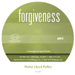 Forgiveness Messages on Mp3